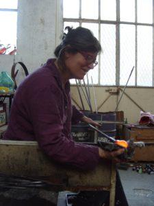 Fabienne Picaud au travail 2013