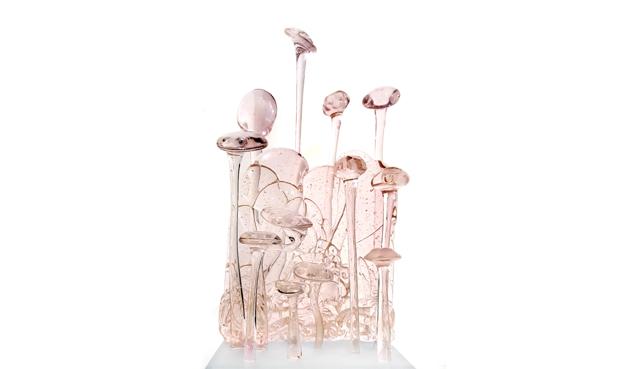 Jardin des délices Fabienne Picaud verre
