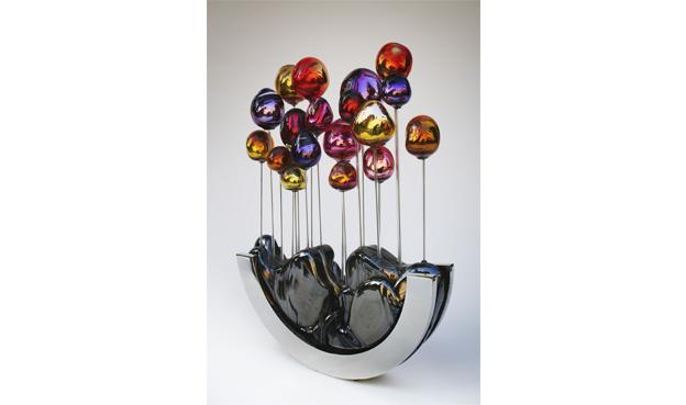 sculpture Fabienne Picaud arbres-timides-vivants verre