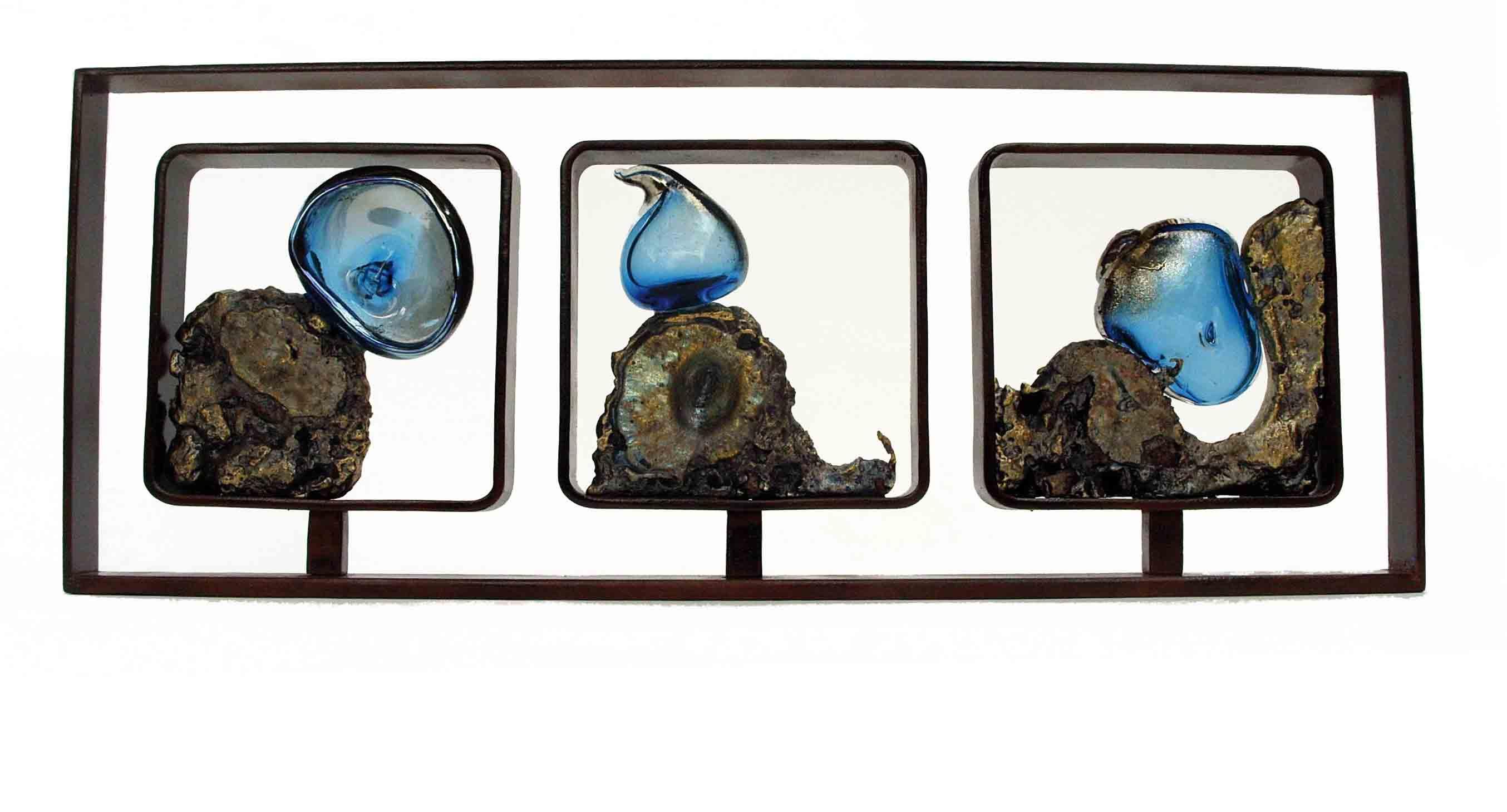 Histoire de Verre, 2012, verre et métal, Fabienne Picaud