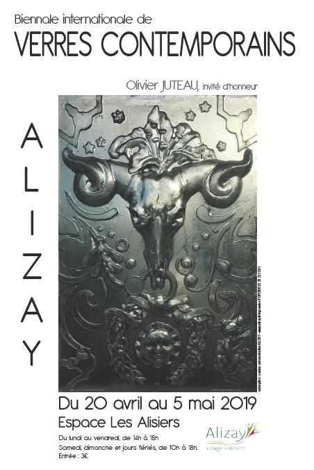 Biennale 2019 verres contemporains ALIZAY