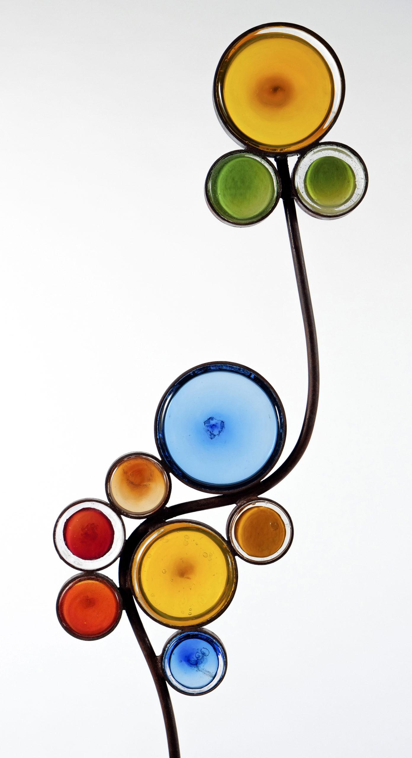 Fleurs sauvages, détail Fabienne Picaud