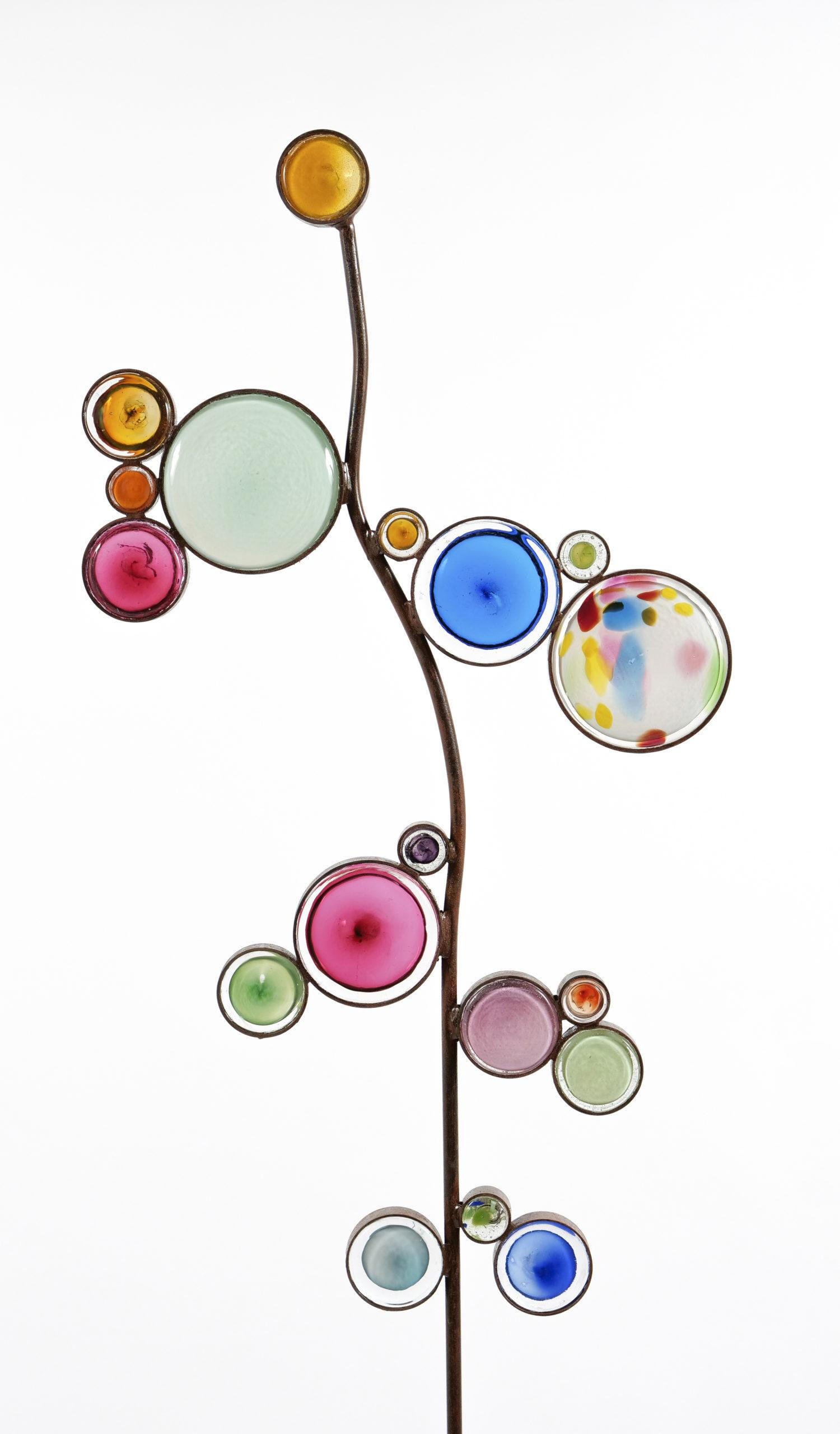 Entêtée Fleur sauvage Fabienne Picaud, verre